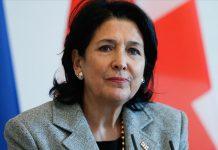 Gürcistan Cumhurbaşkanı Salome Zurabişvili