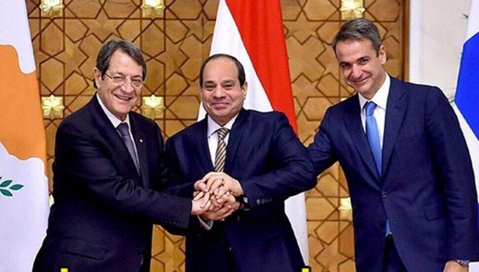 Güney Kıbrıs Yunanistan ve Mısır