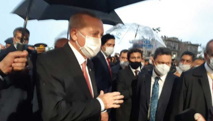 Recep-Tayyip-Erdoğan-Cumhurbaşkanı-Ersin-Tatar