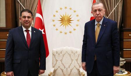 TC Cumhurbaşkanı Erdoğan, Başbakan Ersan Saner