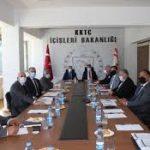Başbakan Ersan Saner ve İçişleri Bakanı Kutlu Evren
