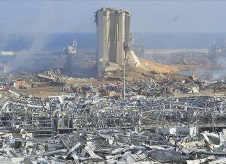 Lübnan'da, Beyrut Limanı