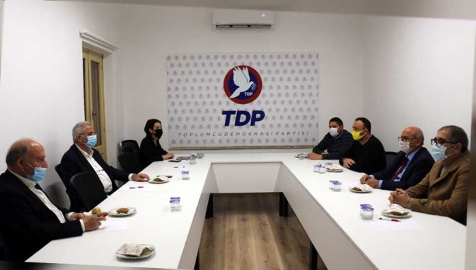 TDP Genel Başkanı Cemal Özyiğit