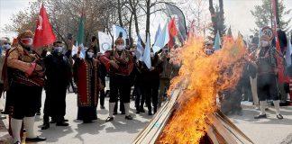 Gazi Üniversitesinde nevruz etkinliği düzenlendi