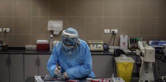 İsrail'de yeni tip koronavirüsün (Kovid-19