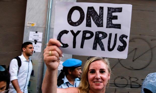 Kıbrıslı Türk ve Rum solu one cyprus