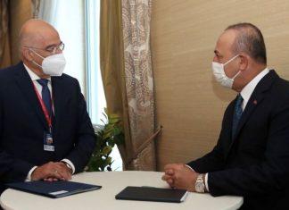 Çavuşoğlu ile Dendias