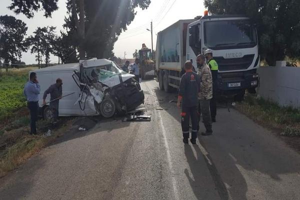 Mehmetçik -Yedikonuk yolunda kaza: 1 yaralı