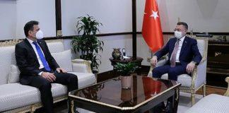 Fuat Oktay, Maliye Bakanı Dursun Oğuz