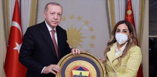 Cumhurbaşkanı Erdoğan, Türkiye Voleybol Federasyonu yönetici ve oyuncularını