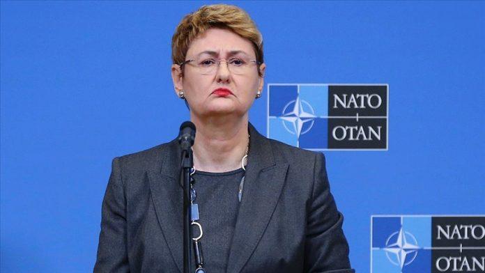 NATO Sözcüsü Oana Lungescu