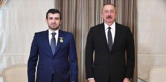 Aliyev, Baykar Teknik Müdürü Selçuk Bayraktar