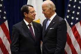 Nikos Anastasiadis Joe Biden