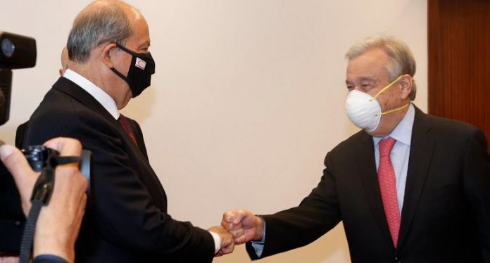 Ersin Tatar'ın Guterres