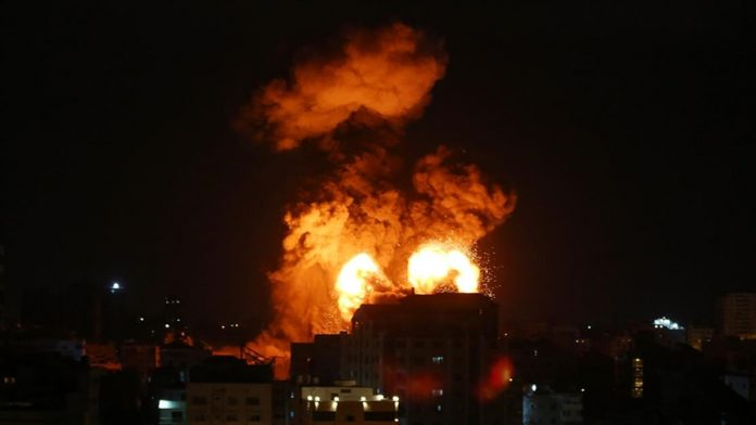 İsrail' Gazze