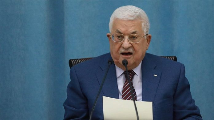 Filistin Devlet Başkanı Abbas