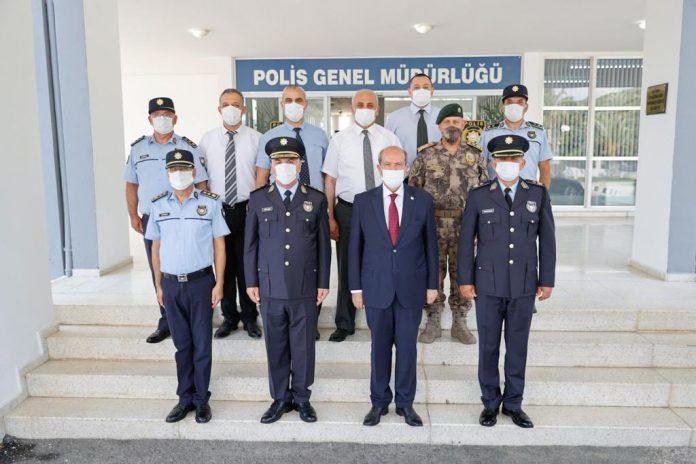 Ersin Tatar'dan Polise