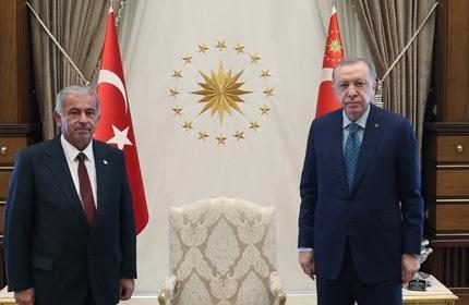 Erdoğan, Meclis Başkanı Önder Sennaroğlu
