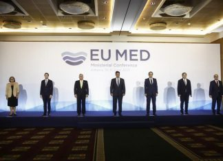 MED7 iki devlet çözümü önerisini