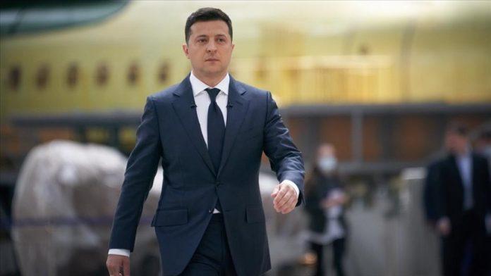 Ukrayna Devlet Başkanı Vladimir Zelenskiy,